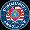 Community Ambulance – Hometown Heart Logo